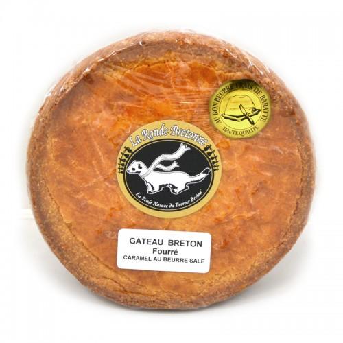 Gâteau Breton fourré caramel