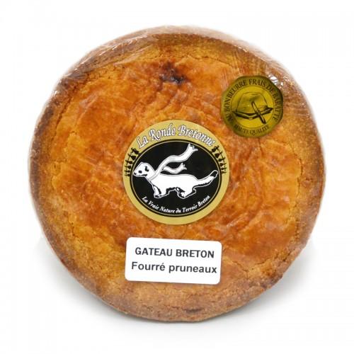 Gâteau Breton fourré framboise